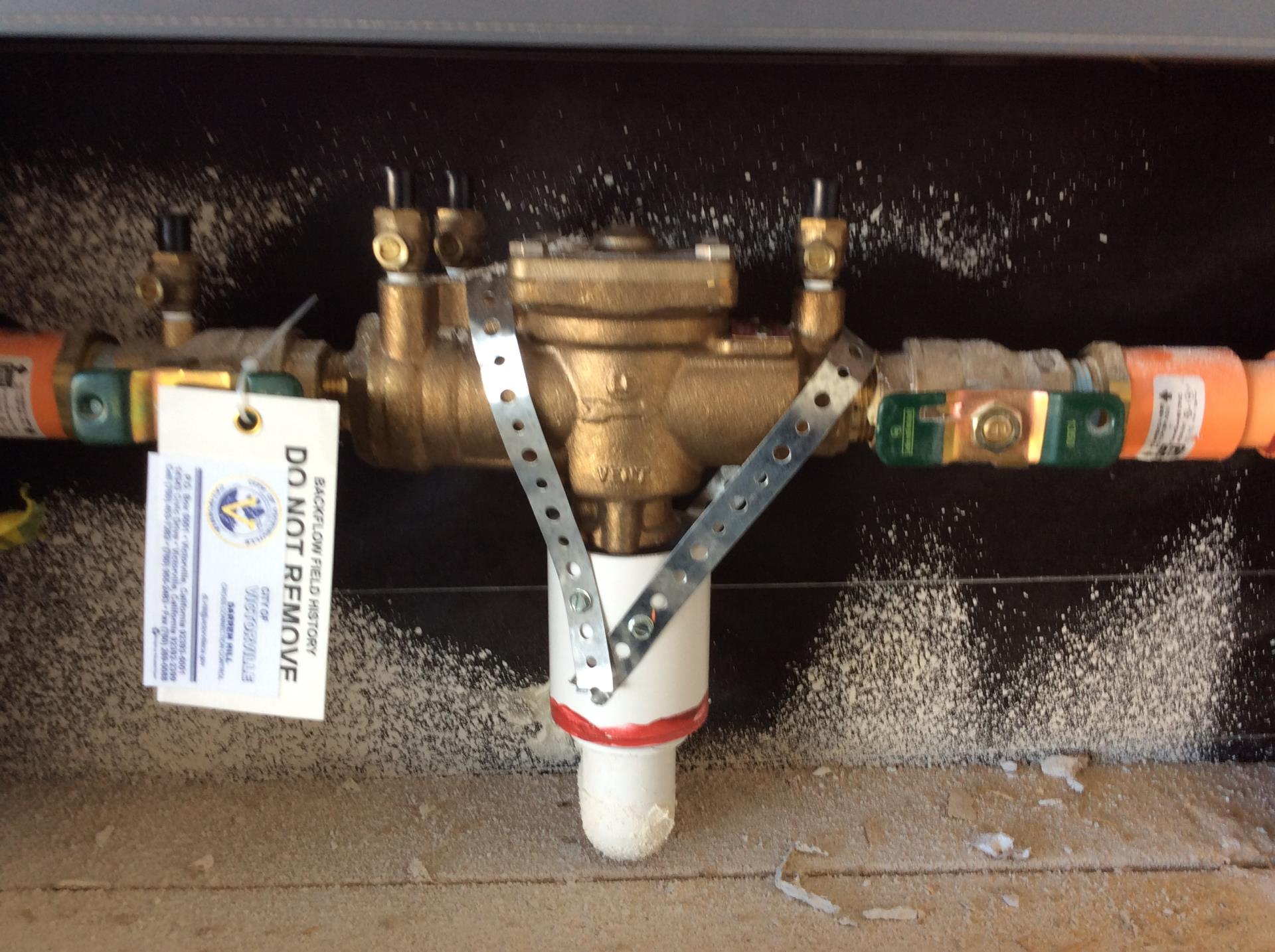 Backflow For RFS