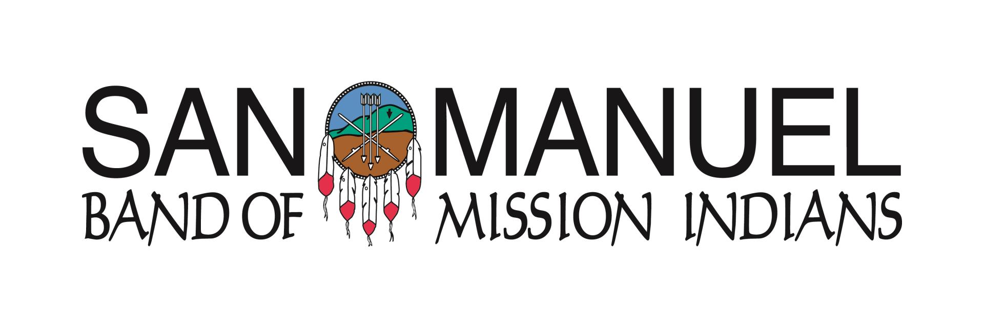 San Manuel Band of Mission Indians- FULL COLOR BLACK