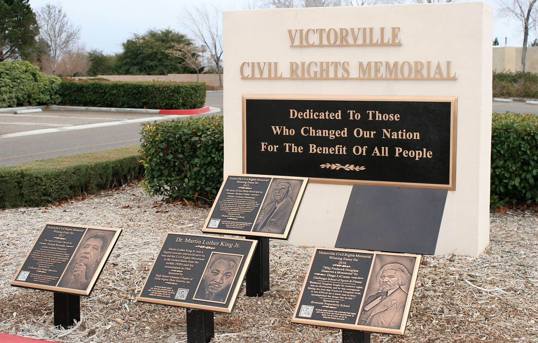 City of Victorville Civil Rights Memorial