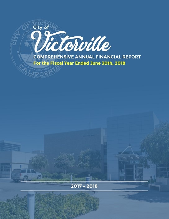 2017-2018 Comprehensive Annual Financial Report