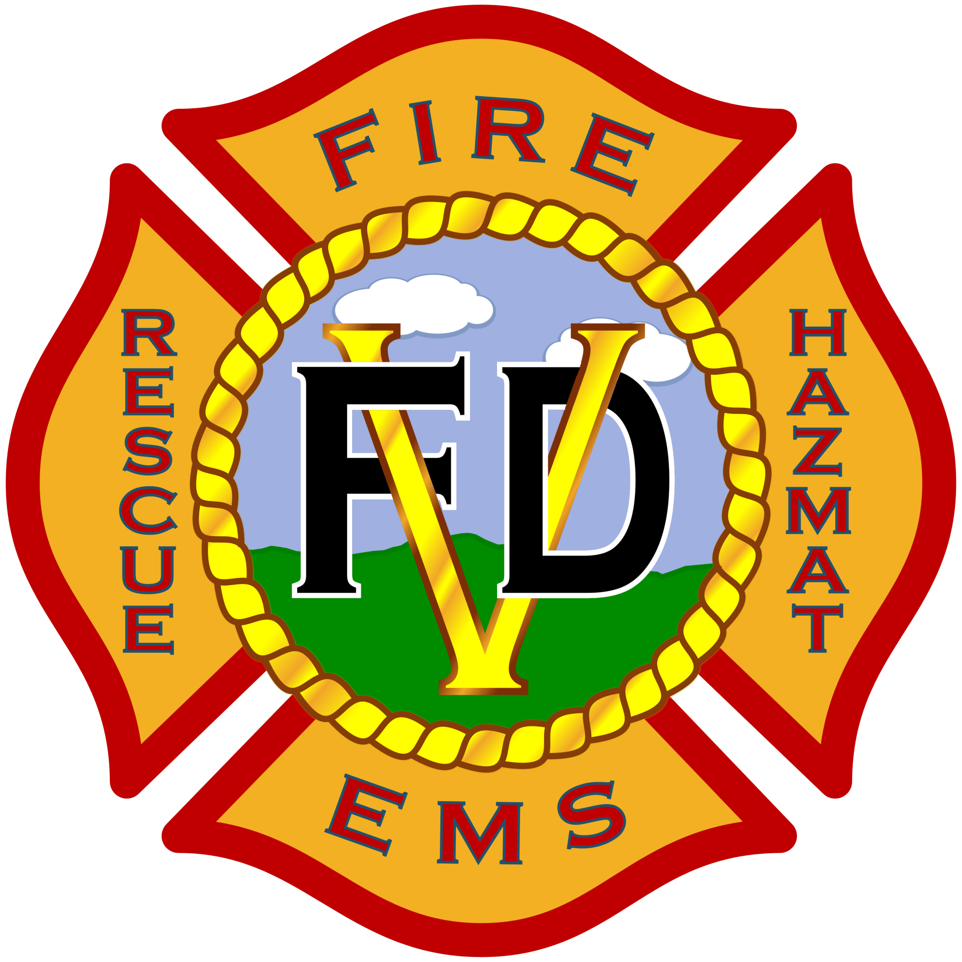 Victorville Fire Department Logo