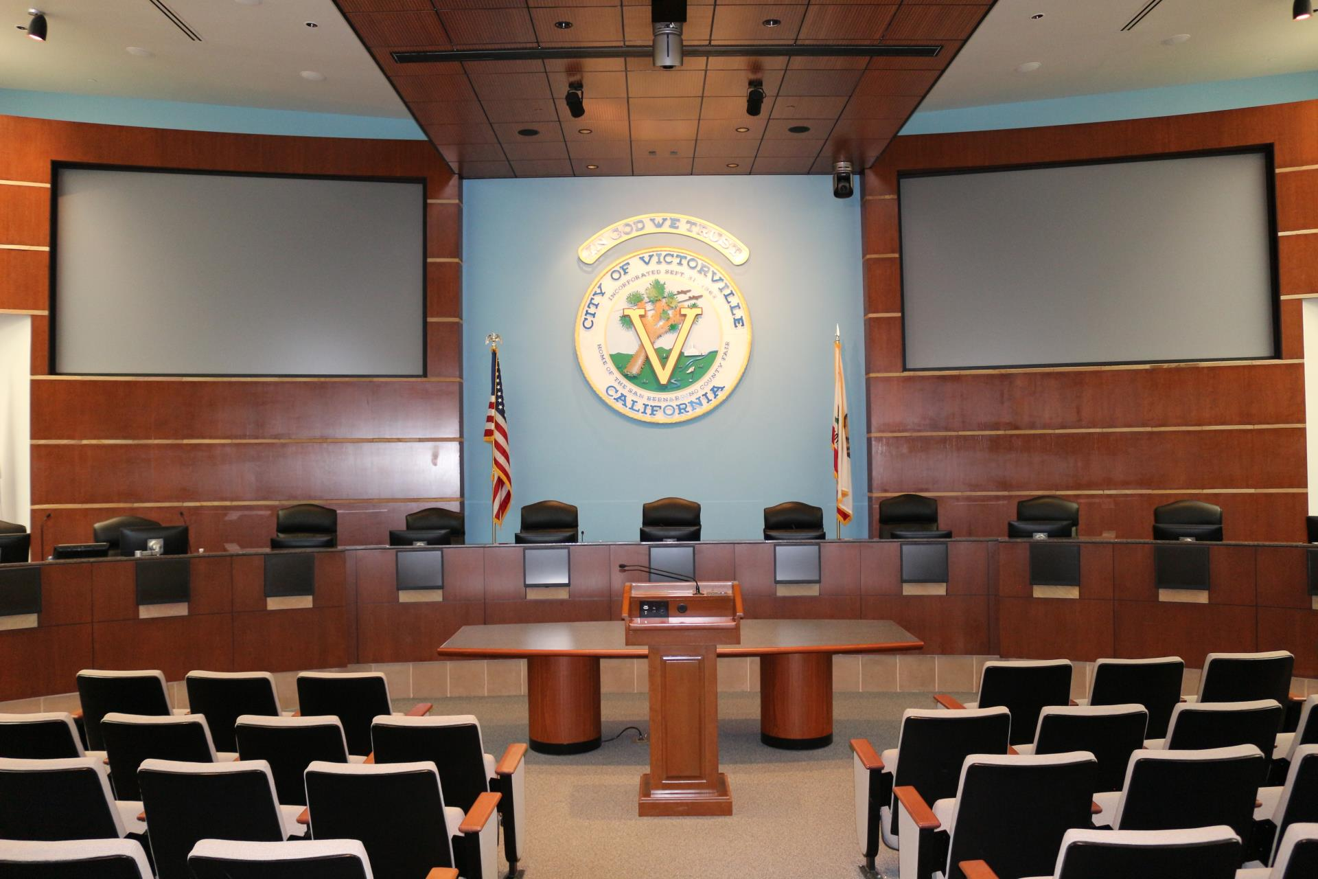 City of Victorville Council Chambers