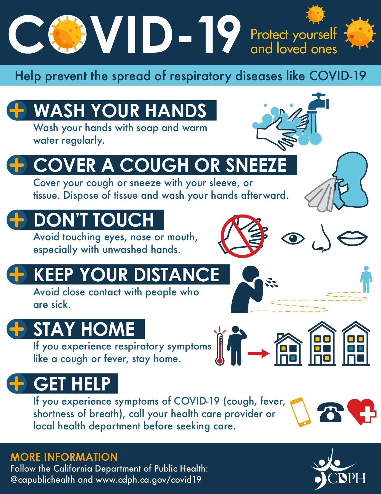 Coronavirus (COVID-19) safety tips